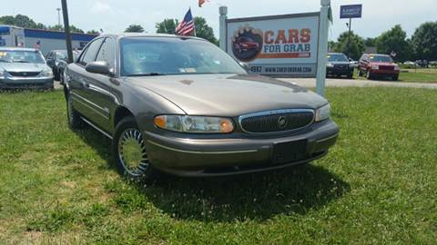 2002 Buick Century for sale at Cars 4 Grab in Winchester VA