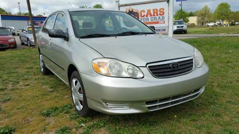 2004 Toyota Corolla for sale at Cars 4 Grab in Winchester VA