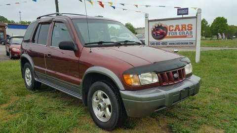 2002 Kia Sportage for sale at Cars 4 Grab in Winchester VA