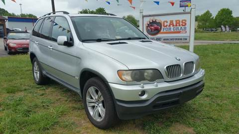 2003 BMW X5 for sale at Cars 4 Grab in Winchester VA