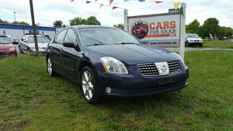 2006 Nissan Maxima for sale at Cars 4 Grab in Winchester VA