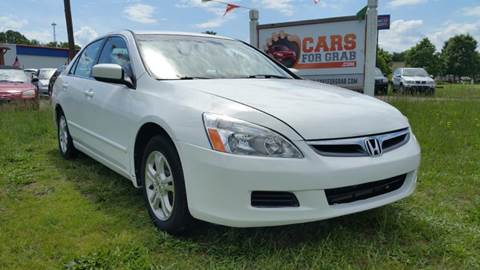 2006 Honda Accord for sale at Cars 4 Grab in Winchester VA