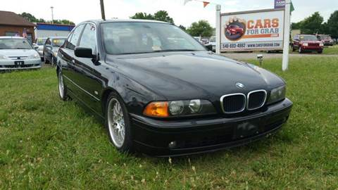 2002 BMW 5 Series for sale at Cars 4 Grab in Winchester VA