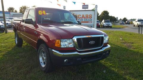 2004 Ford Ranger for sale at Cars 4 Grab in Winchester VA