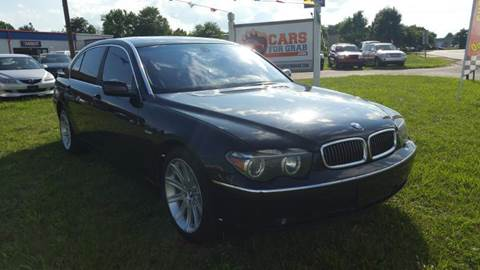 2003 BMW 7 Series for sale at Cars 4 Grab in Winchester VA