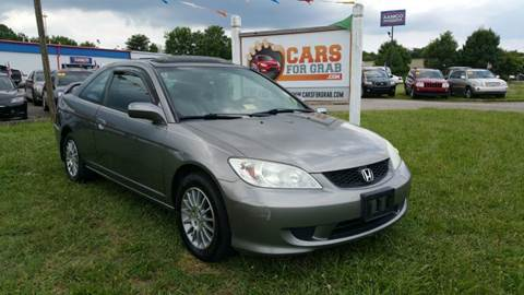 2004 Honda Civic for sale at Cars 4 Grab in Winchester VA
