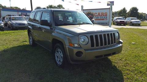 2008 Jeep Patriot for sale at Cars 4 Grab in Winchester VA