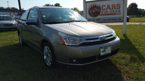 2008 Ford Focus for sale at Cars 4 Grab in Winchester VA