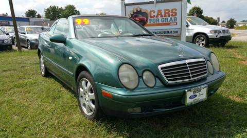 1999 Mercedes-Benz CLK for sale at Cars 4 Grab in Winchester VA