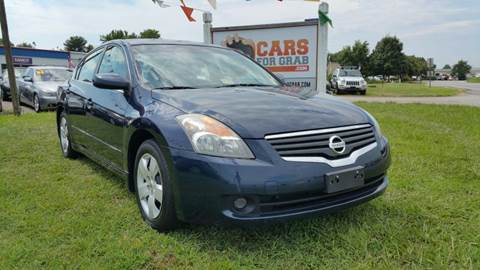 2007 Nissan Altima for sale at Cars 4 Grab in Winchester VA