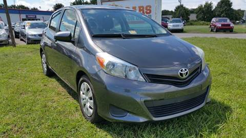 2013 Toyota Yaris for sale at Cars 4 Grab in Winchester VA