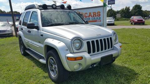 2003 Jeep Liberty for sale at Cars 4 Grab in Winchester VA