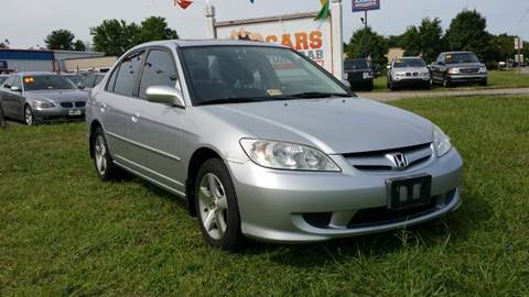 2005 Honda Civic for sale at Cars 4 Grab in Winchester VA