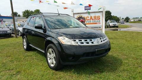 2005 Nissan Murano for sale at Cars 4 Grab in Winchester VA