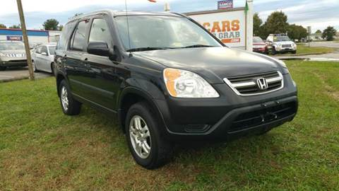 2003 Honda CR-V for sale at Cars 4 Grab in Winchester VA