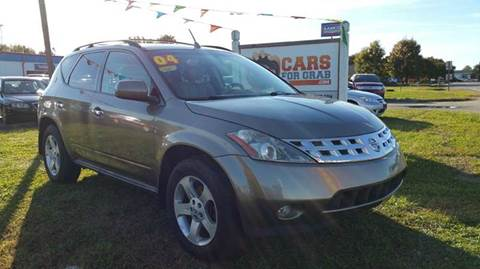 2004 Nissan Murano for sale at Cars 4 Grab in Winchester VA