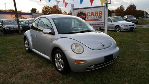 2003 Volkswagen New Beetle for sale at Cars 4 Grab in Winchester VA