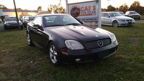 2003 Mercedes-Benz SLK for sale at Cars 4 Grab in Winchester VA