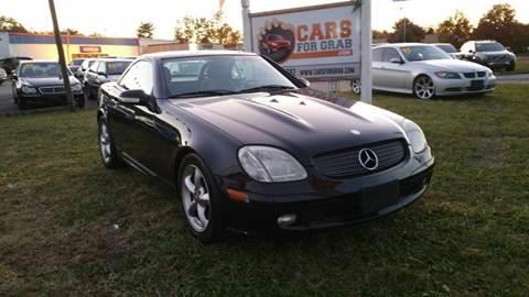 2003 Mercedes-Benz SLK for sale at Cars 4 Grab in Winchester VA