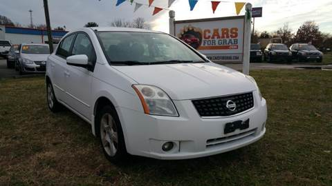 2008 Nissan Sentra for sale at Cars 4 Grab in Winchester VA