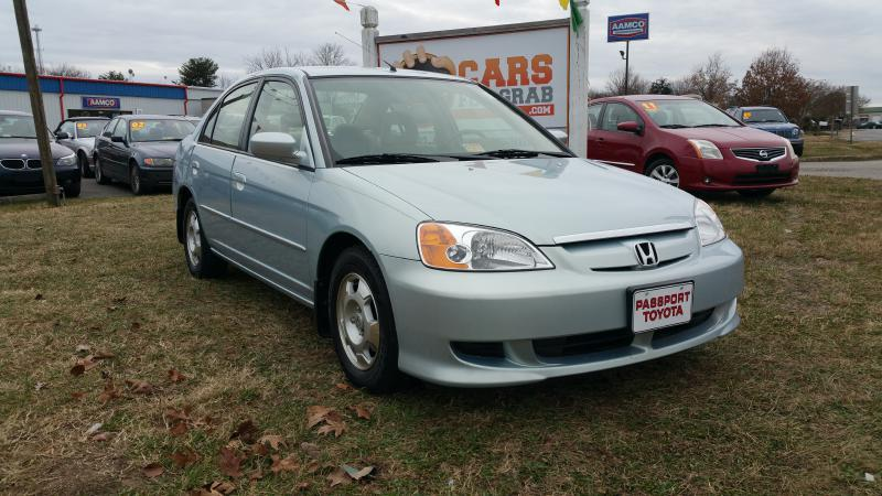 2003 honda civic hybrid 4dr sedan in winchester va cars 4 grab. Black Bedroom Furniture Sets. Home Design Ideas