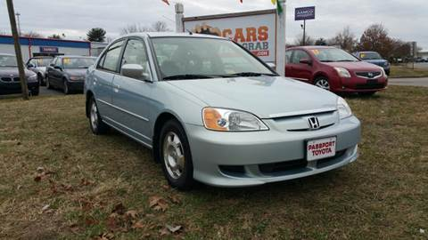 2003 Honda Civic for sale at Cars 4 Grab in Winchester VA