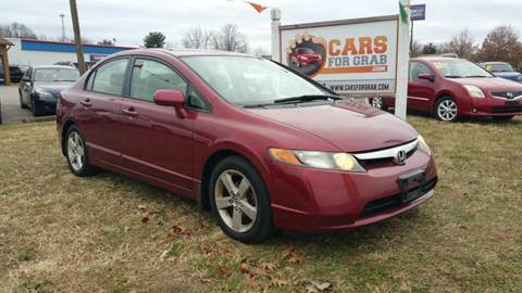 2006 Honda Civic for sale at Cars 4 Grab in Winchester VA