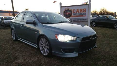 2008 Mitsubishi Lancer for sale at Cars 4 Grab in Winchester VA