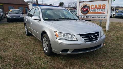 2009 Hyundai Sonata for sale at Cars 4 Grab in Winchester VA