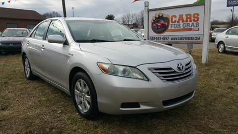 2009 Toyota Camry Hybrid for sale at Cars 4 Grab in Winchester VA