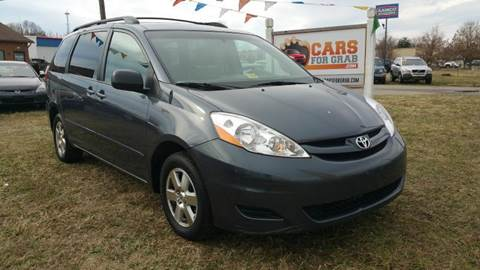 2010 Toyota Sienna for sale at Cars 4 Grab in Winchester VA