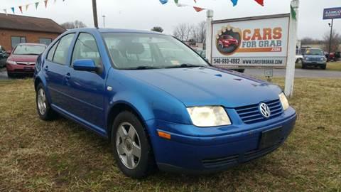 2002 Volkswagen Jetta for sale at Cars 4 Grab in Winchester VA