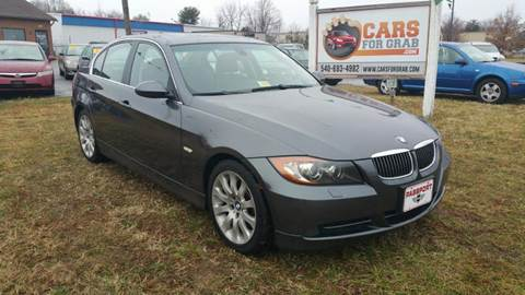 2006 BMW 3 Series for sale at Cars 4 Grab in Winchester VA