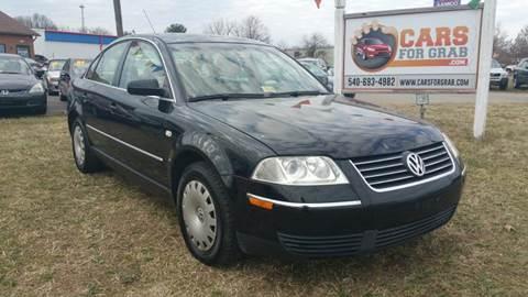 2004 Volkswagen Passat for sale at Cars 4 Grab in Winchester VA