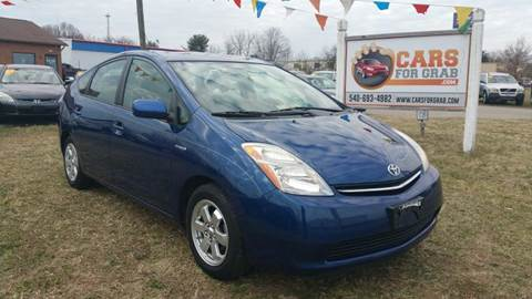 2008 Toyota Prius for sale at Cars 4 Grab in Winchester VA