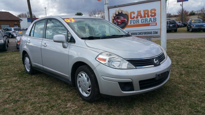 2007 nissan versa 1 8 s 4dr sedan 1 8l i4 4a in winchester va cars 4 grab. Black Bedroom Furniture Sets. Home Design Ideas