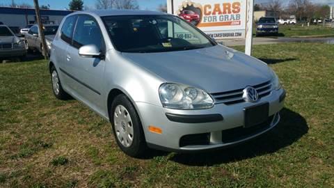 2009 Volkswagen Rabbit for sale at Cars 4 Grab in Winchester VA