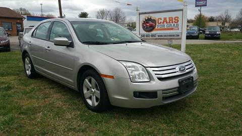 2008 Ford Fusion for sale at Cars 4 Grab in Winchester VA
