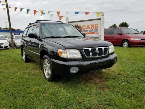 2002 Subaru Forester for sale in Fredericksburg, VA