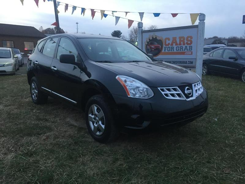 2013 Nissan Rogue S 4dr Crossover In Fredericksburg VA - Cars For ...