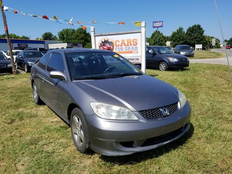 2005 Honda Civic EX 2dr Coupe   Winchester VA