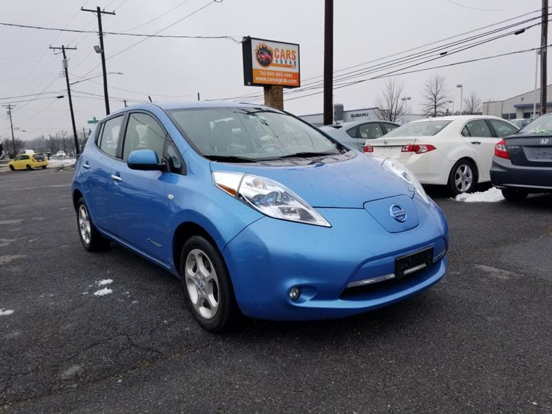 2012 nissan leaf sv 4dr hatchback in winchester va cars. Black Bedroom Furniture Sets. Home Design Ideas