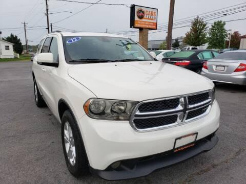 2012 Dodge Durango for sale at Cars 4 Grab in Winchester VA