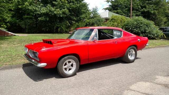 1968 Plymouth Barracuda for sale at Massirio Enterprises in Middletown CT