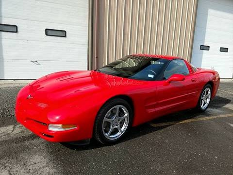 2004 Chevrolet Corvette for sale at Massirio Enterprises in Middletown CT