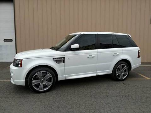 2012 Land Rover Range Rover Sport for sale at Massirio Enterprises in Middletown CT