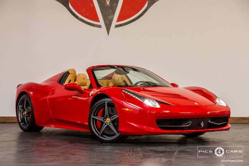 2013 Ferrari 458 Spider 2dr Convertible In San Diego Ca Veloce Motors
