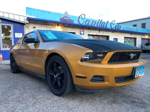 2010 Ford Mustang for sale in Austin, TX