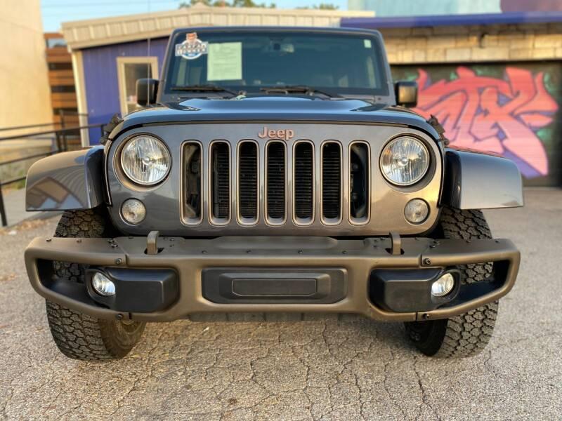 2016 Jeep Wrangler Unlimited 4x4 Sahara 75th Anniversary 4dr SUV - Austin TX