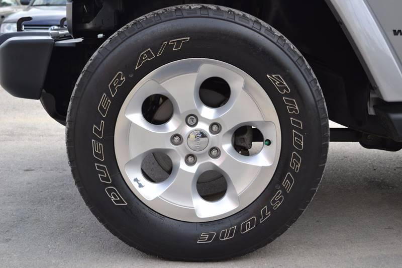 2014 Jeep Wrangler Unlimited for sale at Nick's Motor Sales LLC in Kalkaska MI